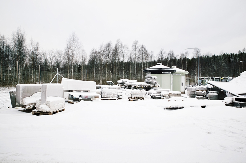 Apberget, where the stones are stored