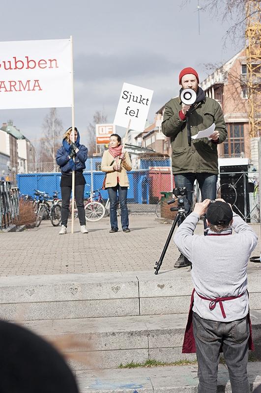 Manifestation fotografi av Albin Grind